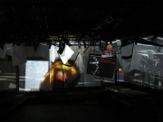 first projection test image