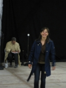 Lee and Flax rehearsing image